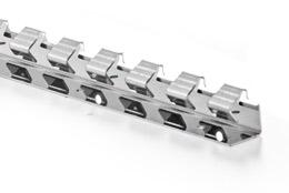 Befestigungsschiene f. PVC - Streifen / Lamellen