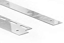 Klemmprofil f. PVC - Streifen / Lamellen