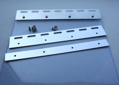 Maschineneinhausung - PVC-Streifenvorhang