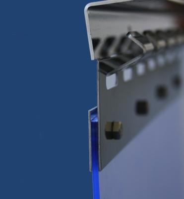 PVC-Streifenvorhang auch an Wiederverkäufer und Weiterverarbeiter