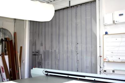 Streifenvorhang PVC transparent, durchsichtig