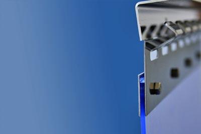 Klemmprofil für Streifenvorhang