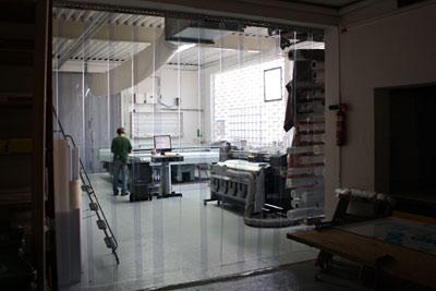 Streifenvorhang PVC