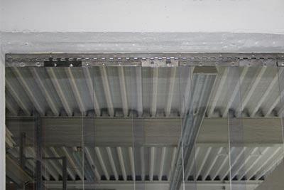 PVC-Streifenvorhang für Industrie und Landwirtschaft