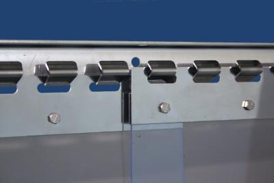 PVC-Streifenvorhang Edelstahl-Befestigungsteile